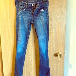 AE Skinny Kick Jeans Size 6